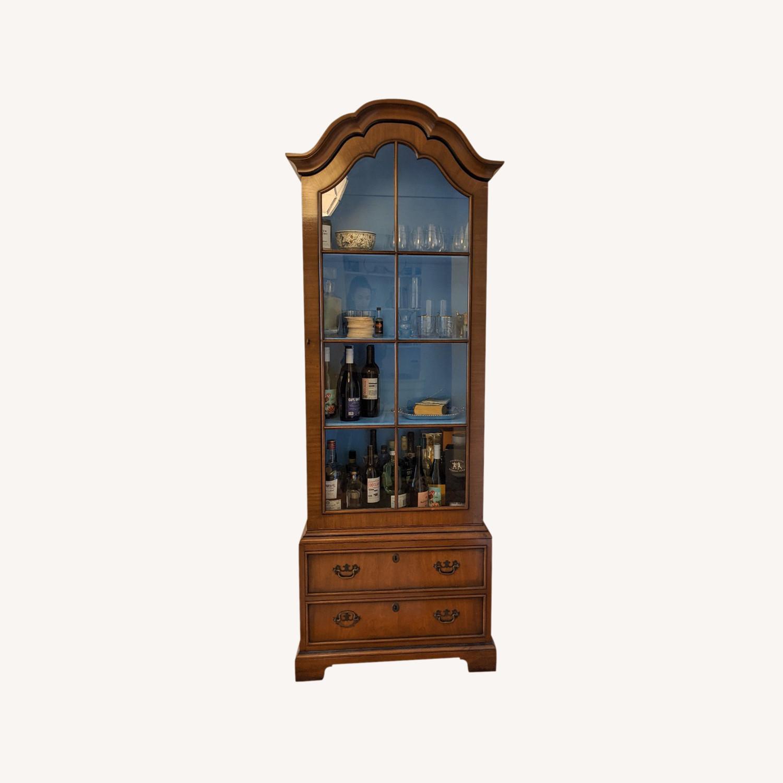 Vintage Kittinger '40s Curio Cabinet - image-0
