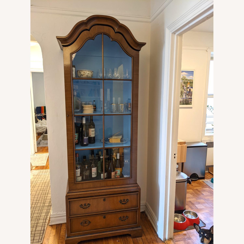 Vintage Kittinger '40s Curio Cabinet - image-2