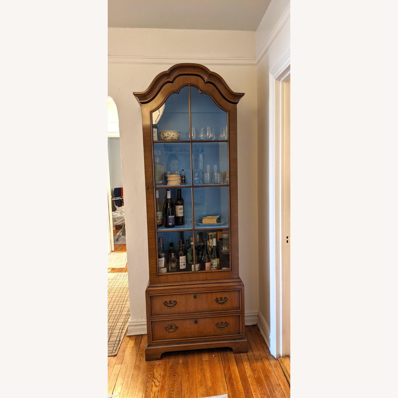Vintage Kittinger '40s Curio Cabinet - image-1