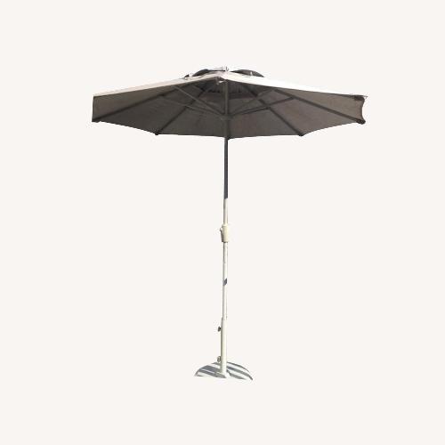 Used Room & Board Patio Umbrella for sale on AptDeco