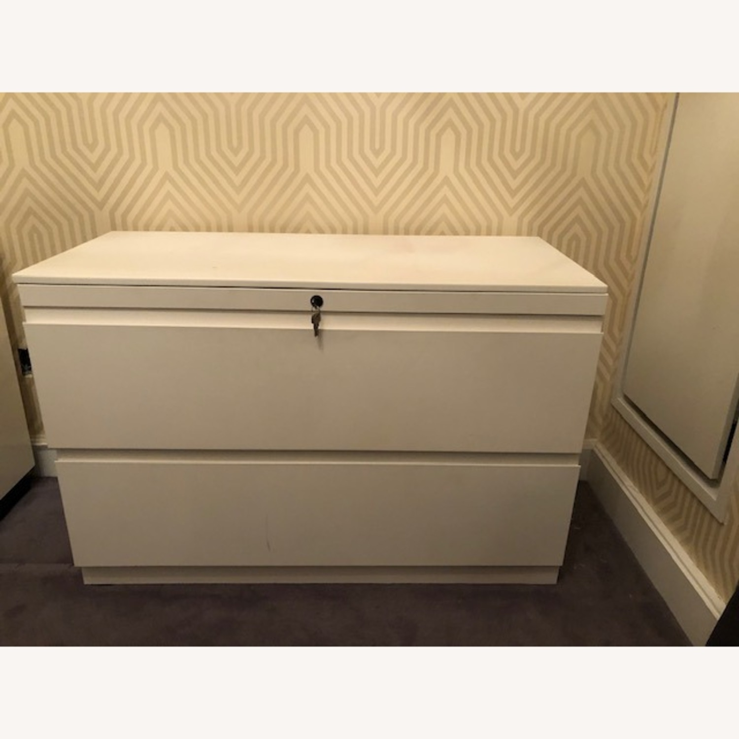 Container Store White Cabinet - image-1