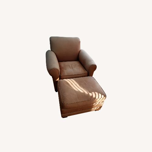 Used Leather Club Chair for sale on AptDeco