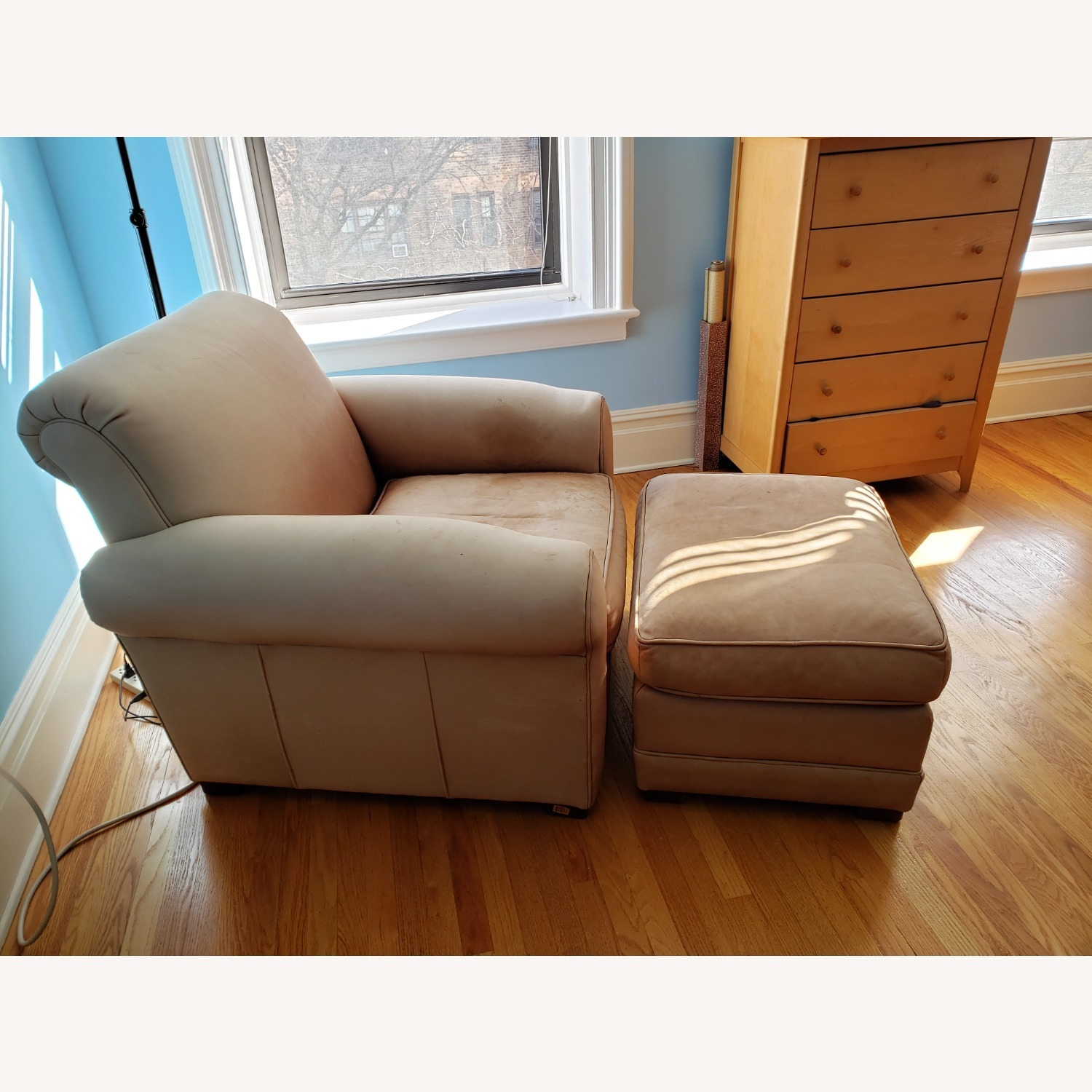 Leather Club Chair - image-2
