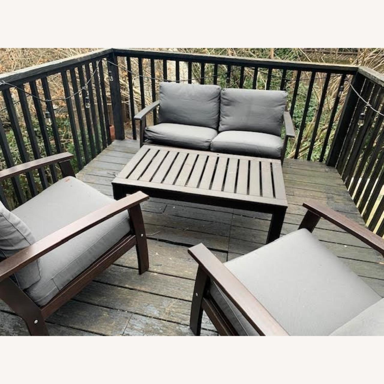 IKEA Outdoor Loveseat - image-2