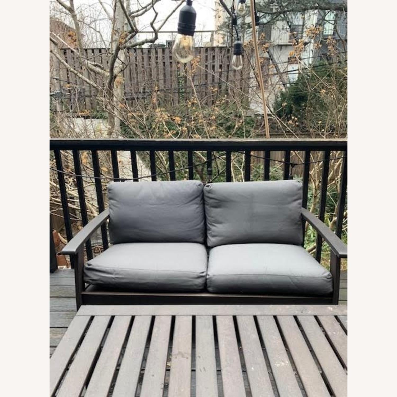 IKEA Outdoor Loveseat - image-1