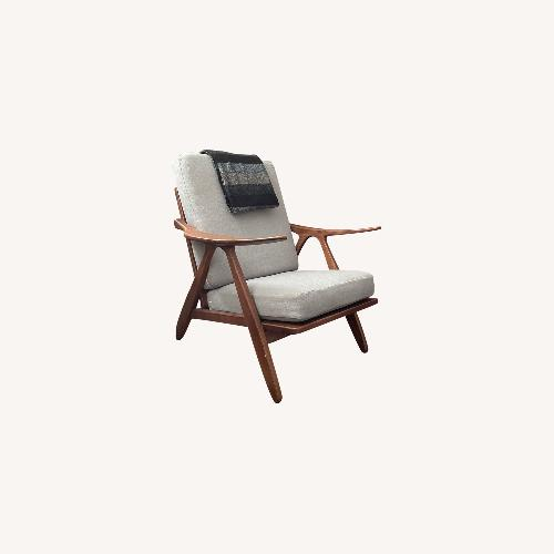 Used Mid Century inspired Lounge Armchair for sale on AptDeco