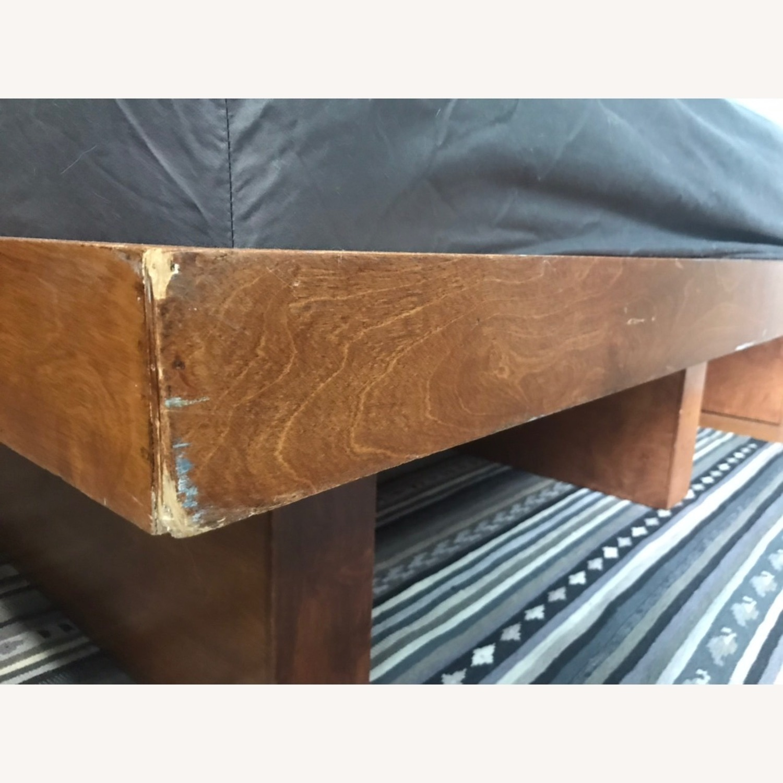 Gothic Cabinet Craft Queen Wooden Platform Bed - image-2