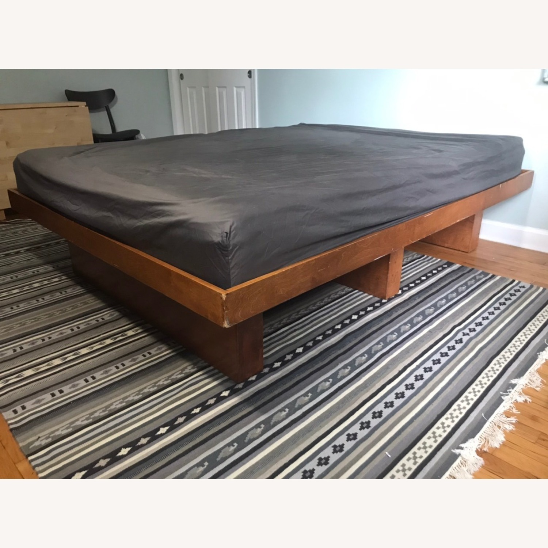 Gothic Cabinet Craft Queen Wooden Platform Bed - image-3