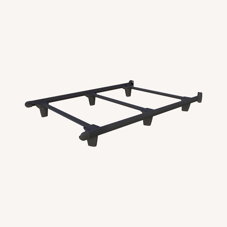Knickerbocker Steel Minimal Bed Frame - Cali King - image-0