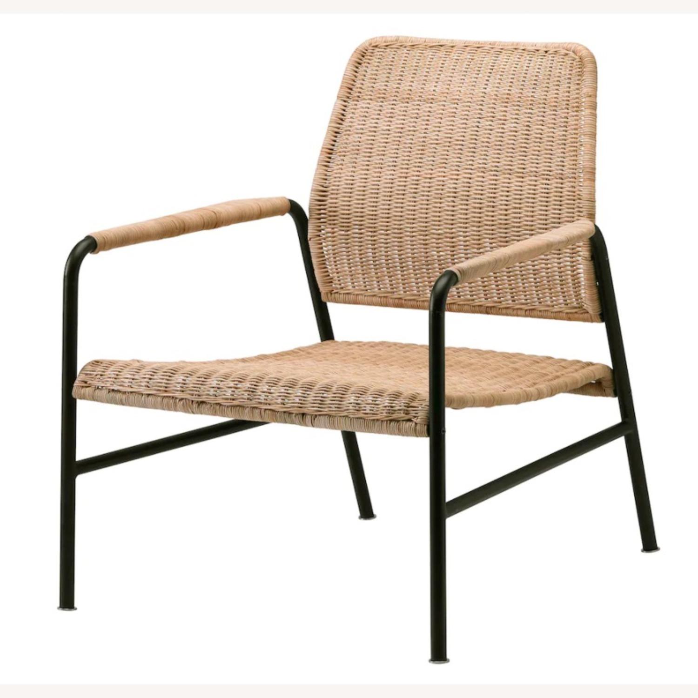 IKEA Set of 2  Rattan Armchairs - image-3