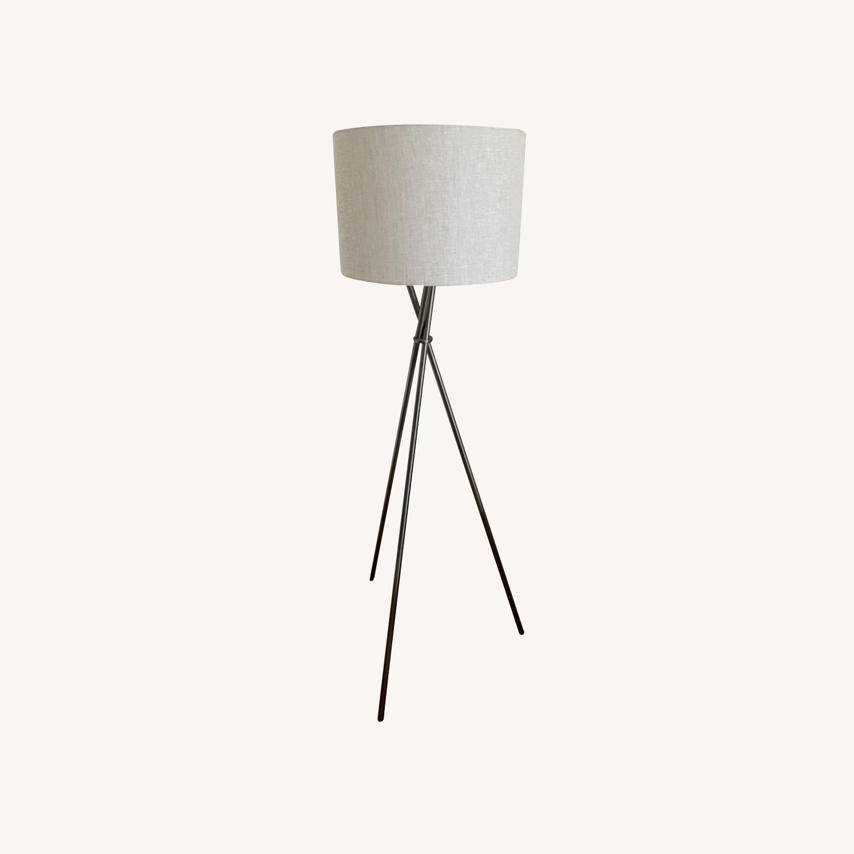 Tripod Metal Floor Lamp - image-0
