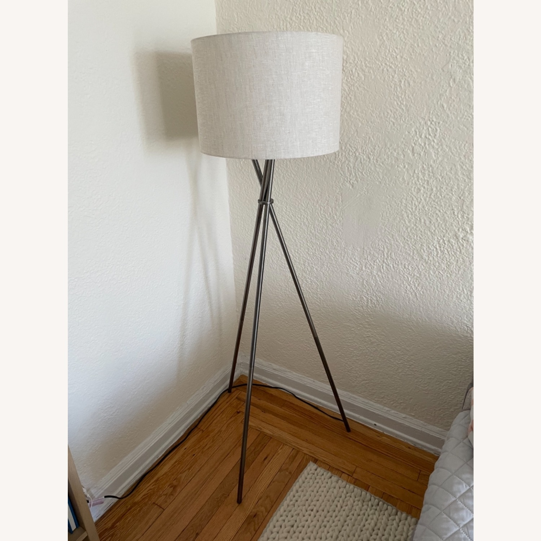 Tripod Metal Floor Lamp - image-1