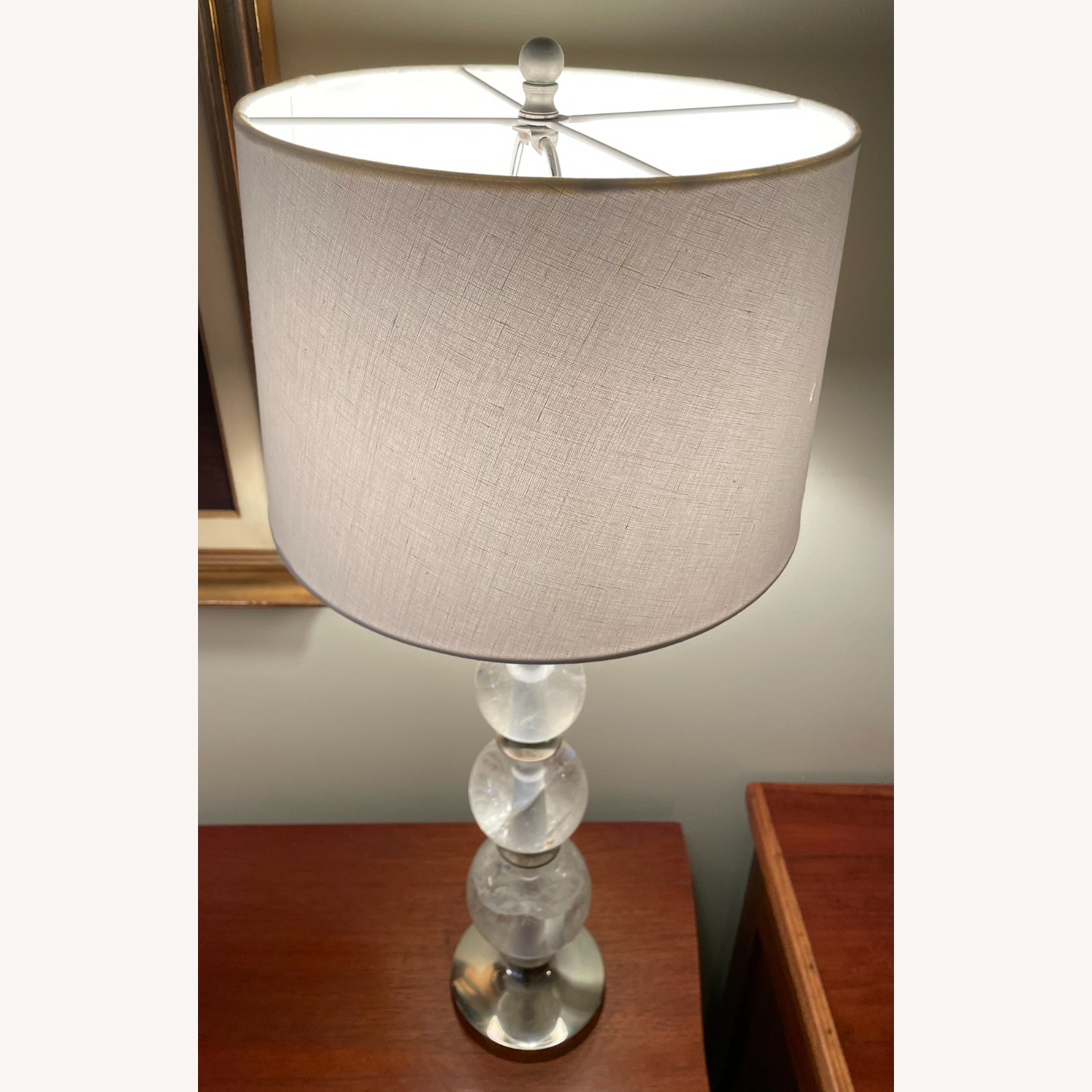 Lutry Crystal Ball Lamps by Vaughan Designs - image-5