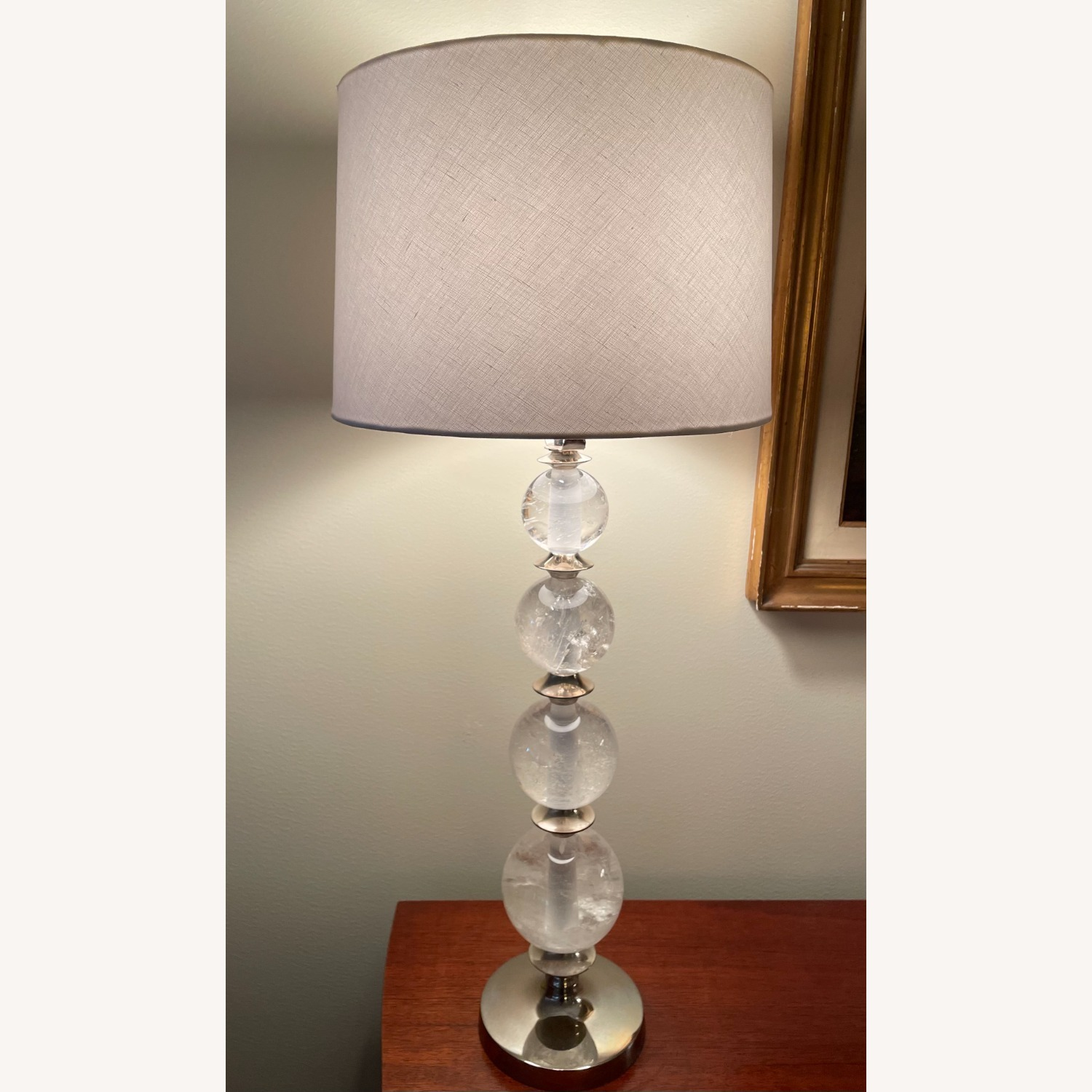 Lutry Crystal Ball Lamps by Vaughan Designs - image-3