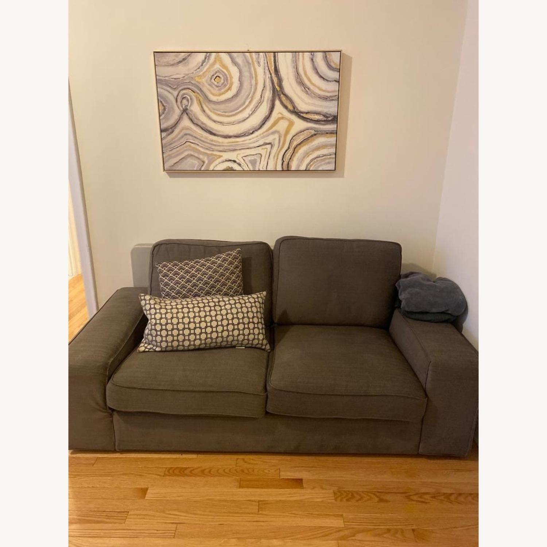 IKEA KIVIK Loveseat Couch - image-1