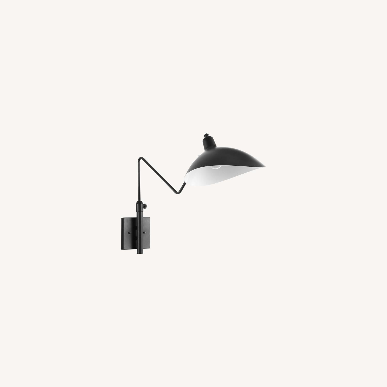 Wall Lamp In Black Shade Cups Finish - image-5