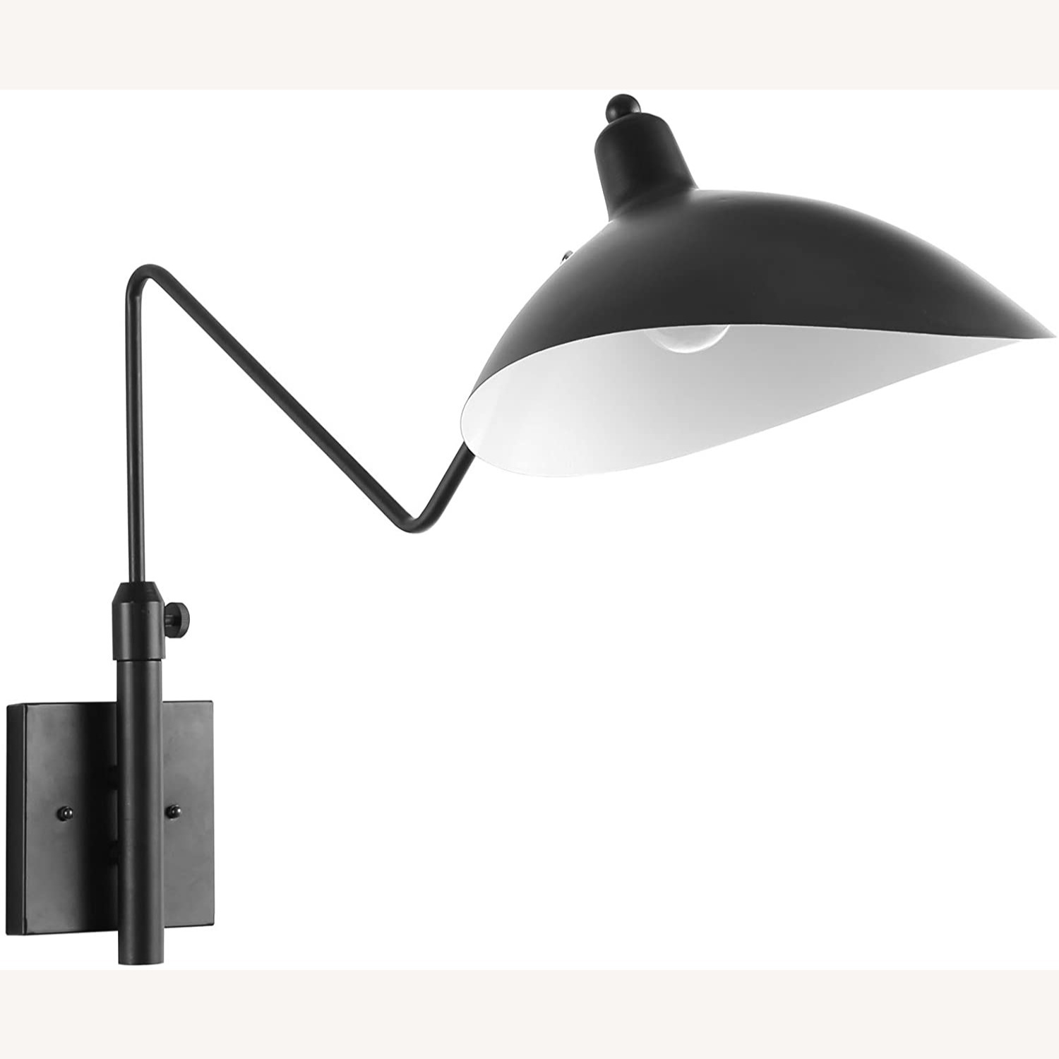 Wall Lamp In Black Shade Cups Finish - image-0