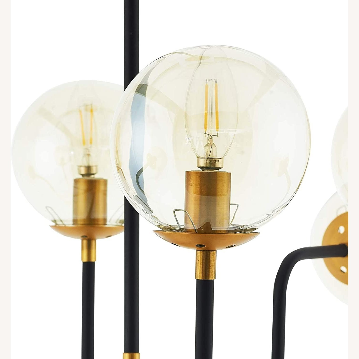 Classic Pendant Chandelier In Antique Brass Finish - image-1