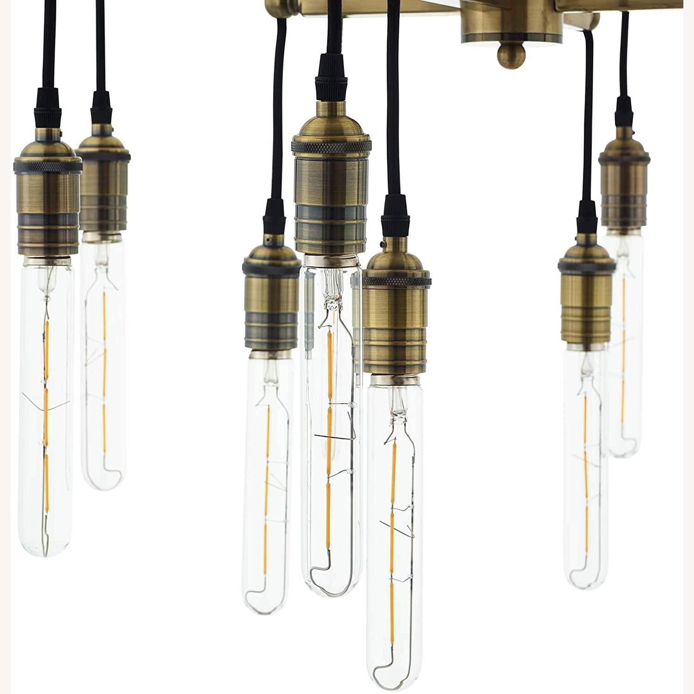 Ceiling Pendant Light in Antique Brass Finish - image-4