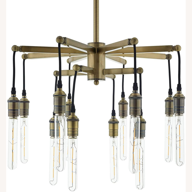 Ceiling Pendant Light in Antique Brass Finish - image-3