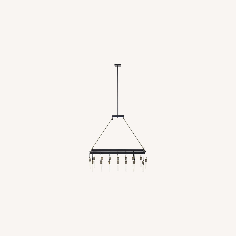 Modern Style Pendant Chandelier In Matte Black - image-7