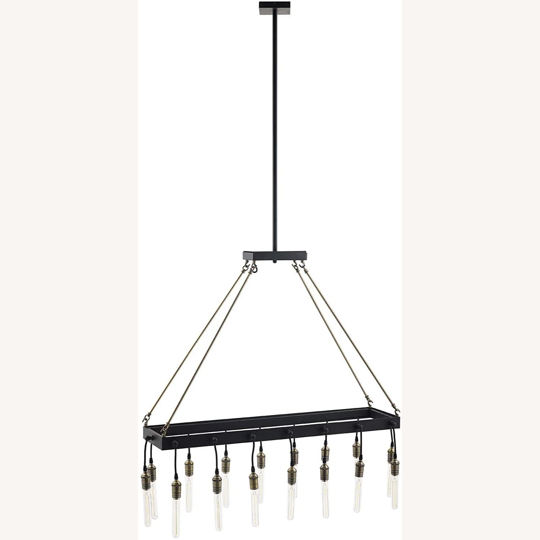 Modern Style Pendant Chandelier In Matte Black - image-5