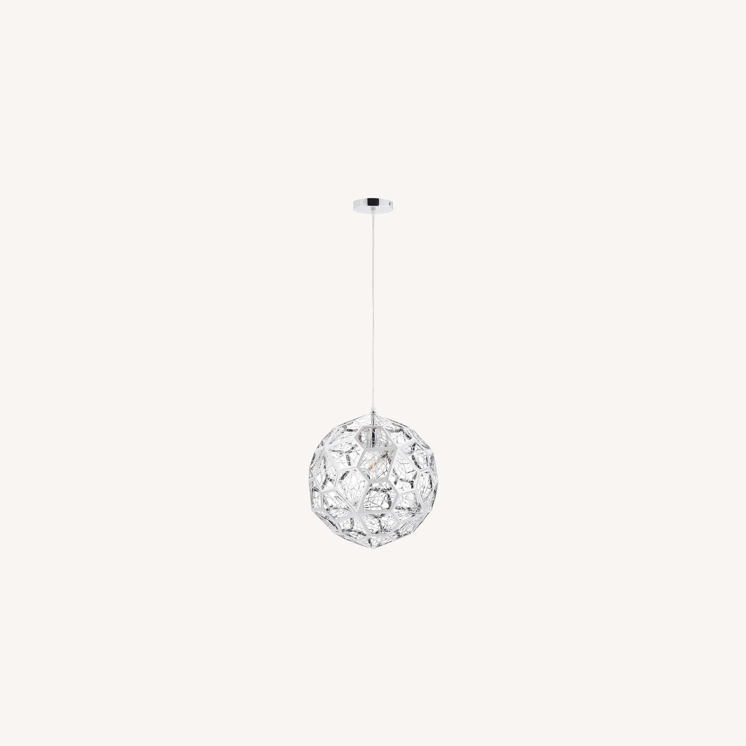 Pendant Chandelier In Diamond-Shaped Pattern - image-4