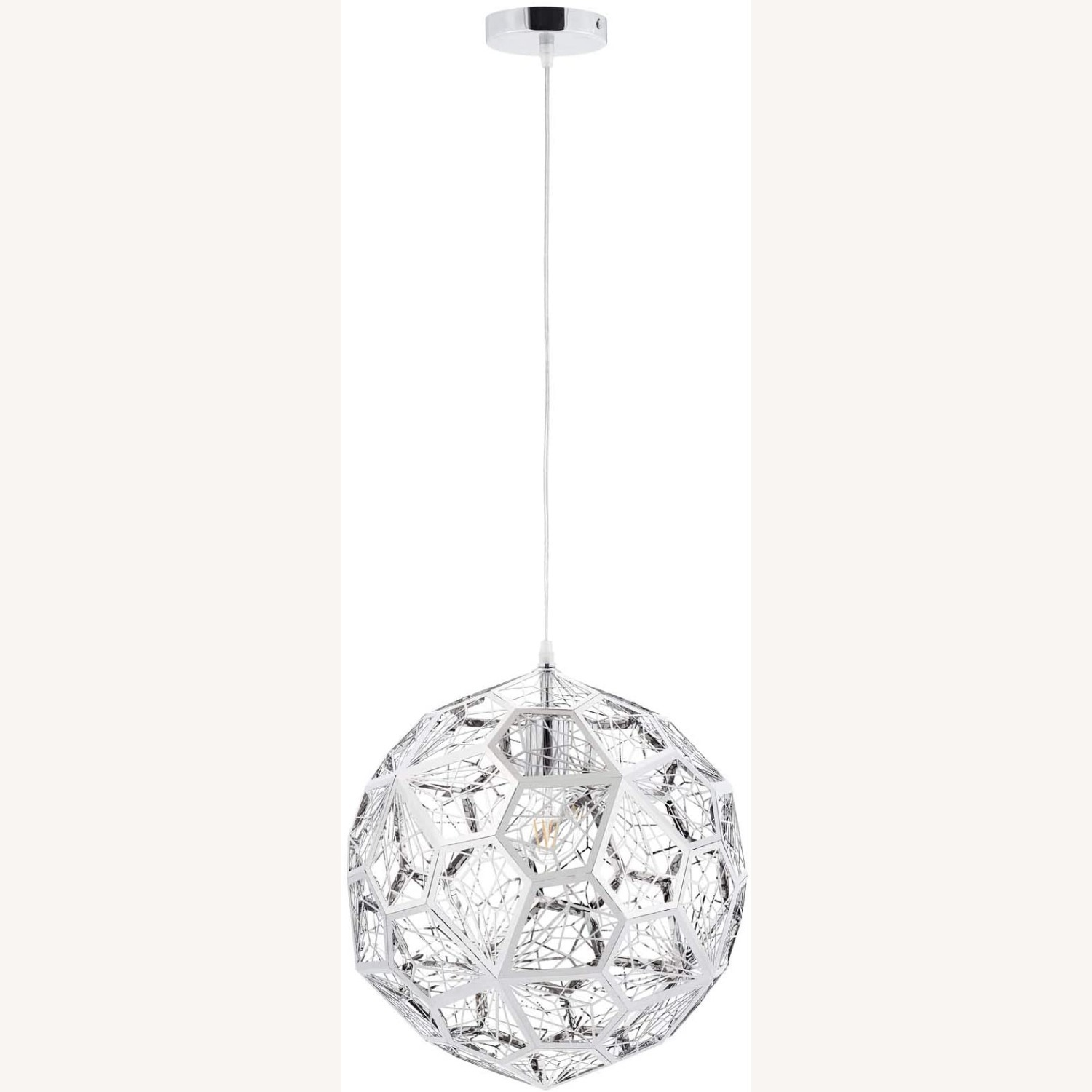 Pendant Chandelier In Diamond-Shaped Pattern - image-0