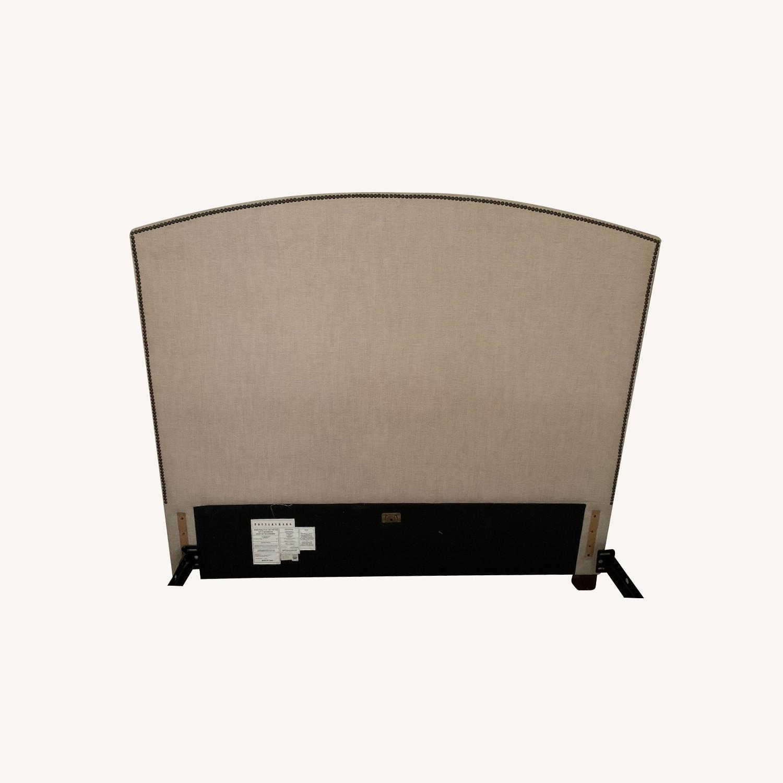 Pottery Barn Upholstered Headboard - image-0