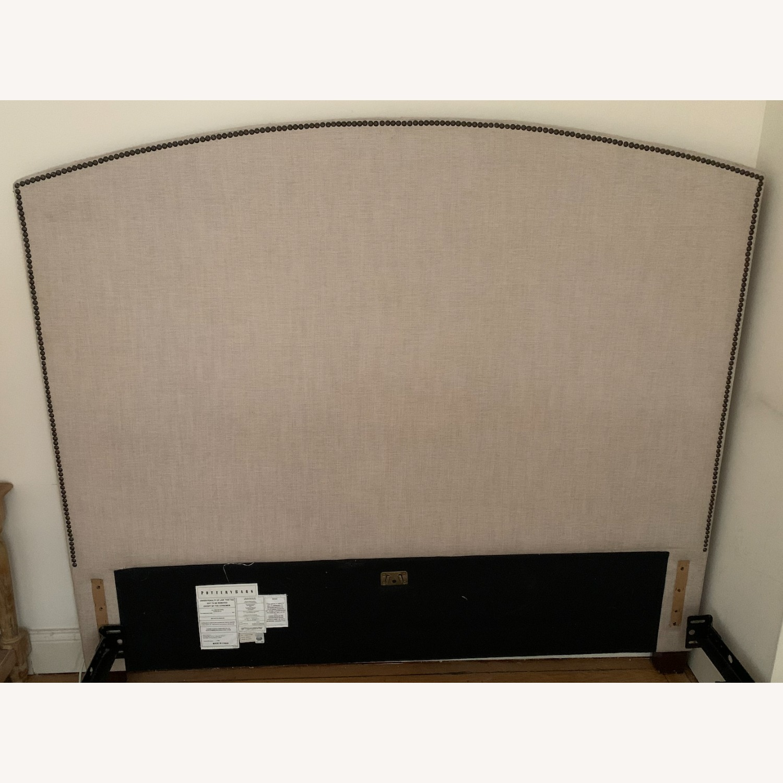 Pottery Barn Upholstered Headboard - image-1