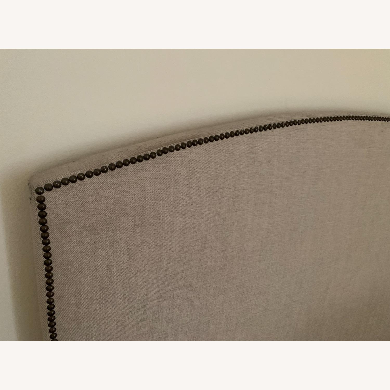 Pottery Barn Upholstered Headboard - image-4