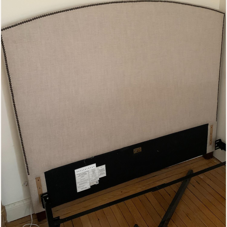 Pottery Barn Upholstered Headboard - image-2