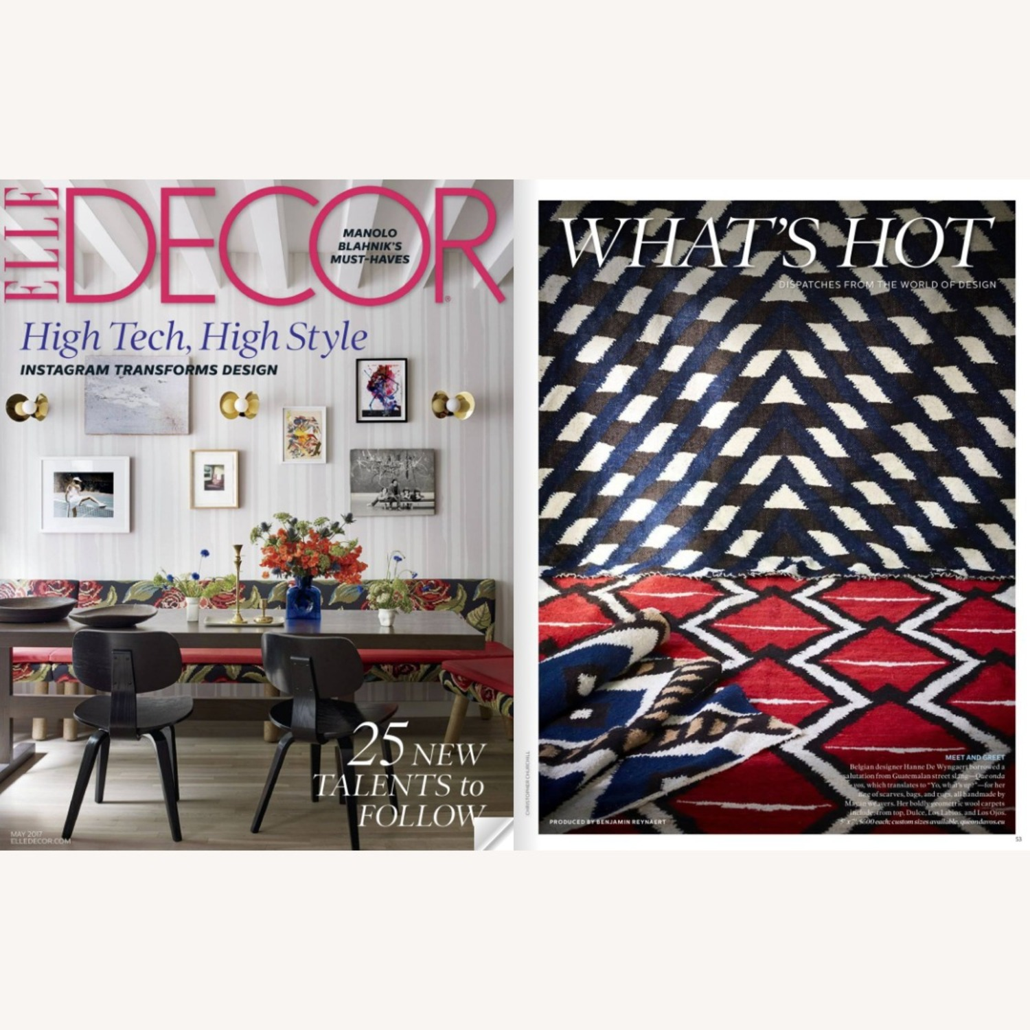 Artisan Rug featured in Elle Decor - image-3