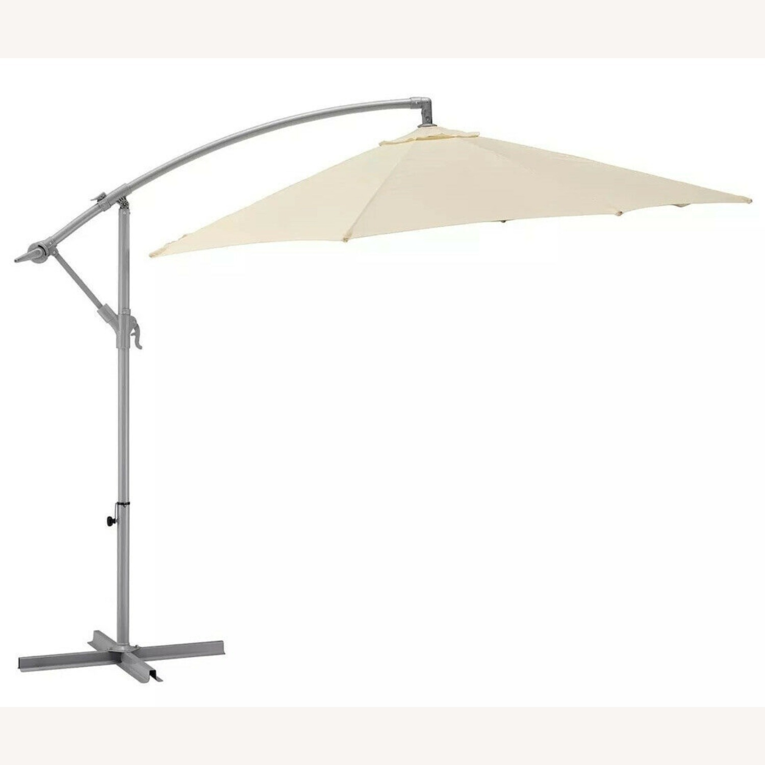 IKEA KARLSO Hanging Umbrella in White - image-2