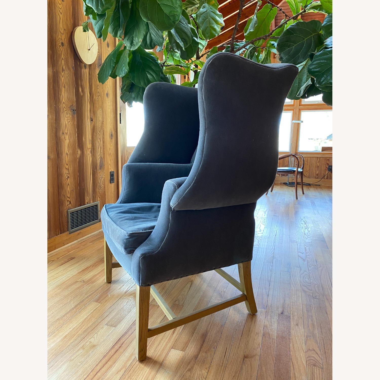 Restoration Hardware 1920's Gregorian Wingback Chair - image-2
