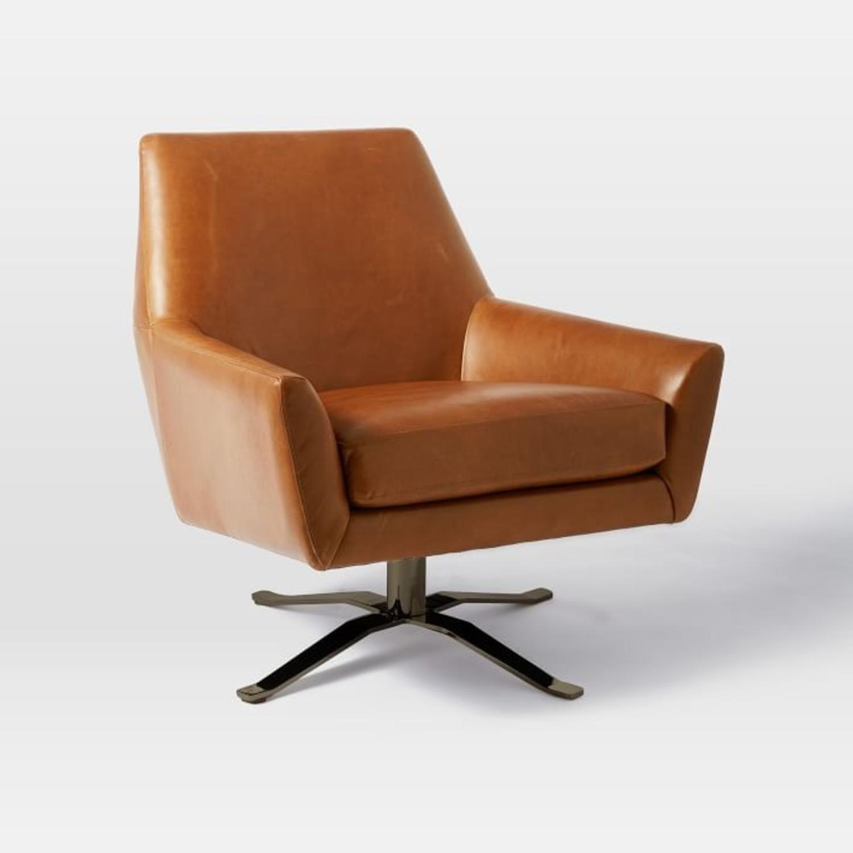 West Elm Lucas Swivel Base Chair - image-2