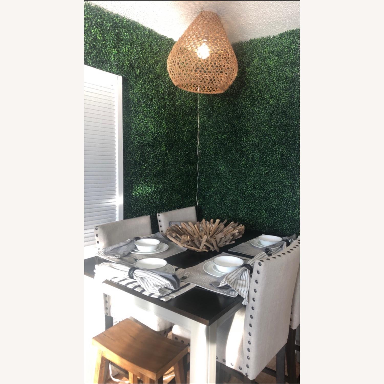 Farmhouse Wood Counter Table Set - image-2