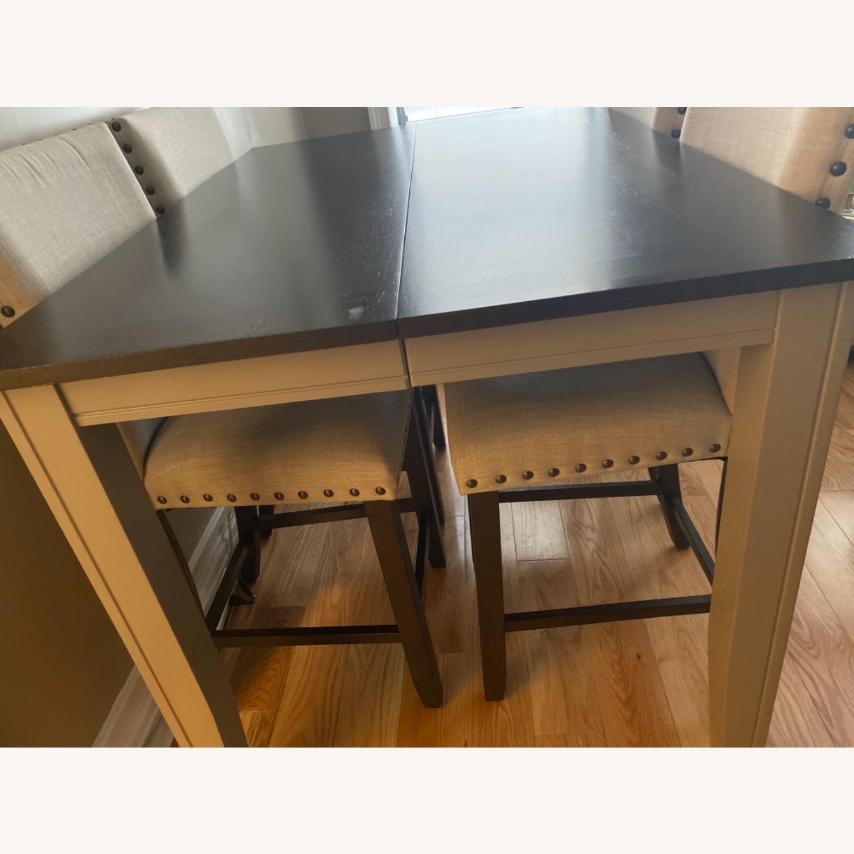 Farmhouse Wood Counter Table Set - image-10