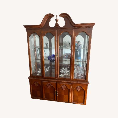 Used Wooden China Display for sale on AptDeco