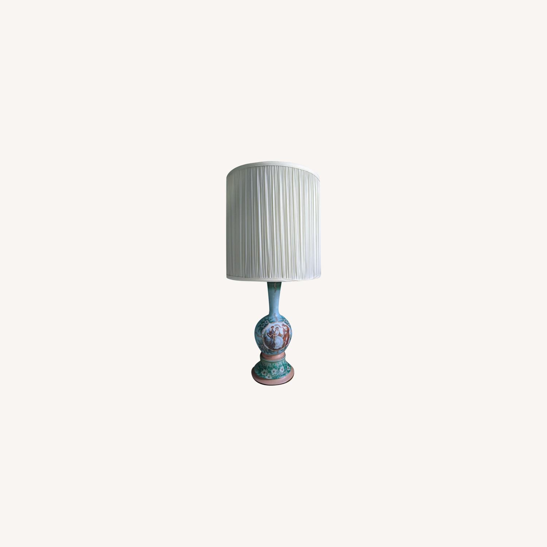 Unique Handpainted Vintage Lamps - image-0