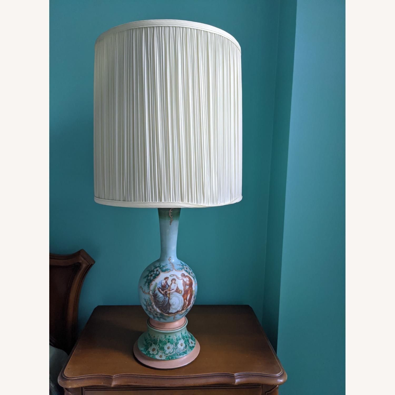 Unique Handpainted Vintage Lamps - image-7