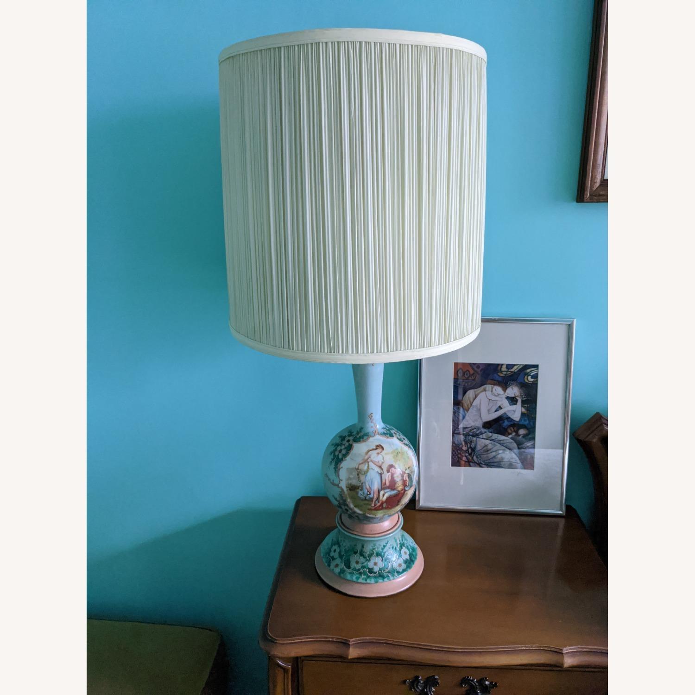 Unique Handpainted Vintage Lamps - image-1
