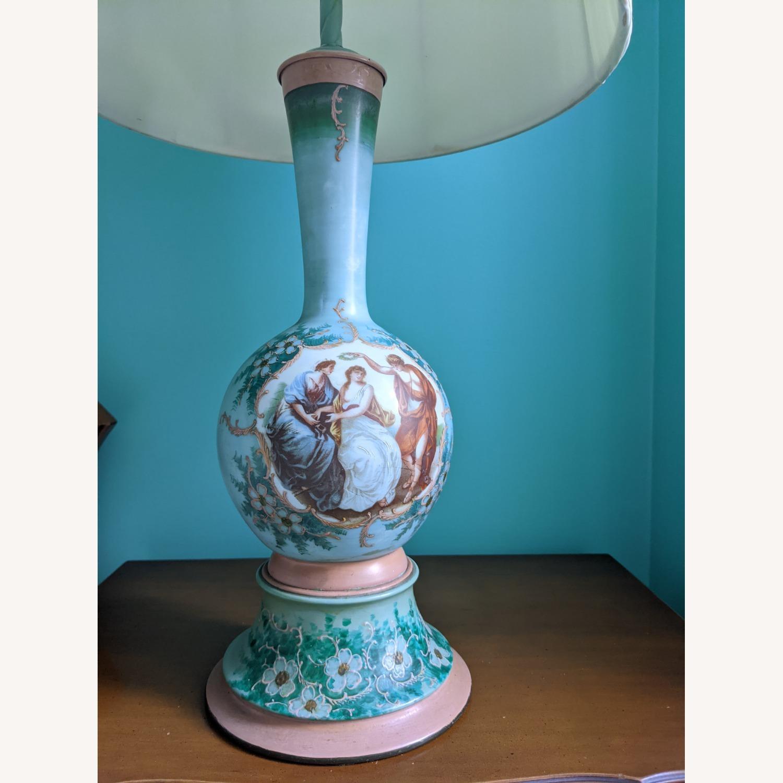 Unique Handpainted Vintage Lamps - image-5