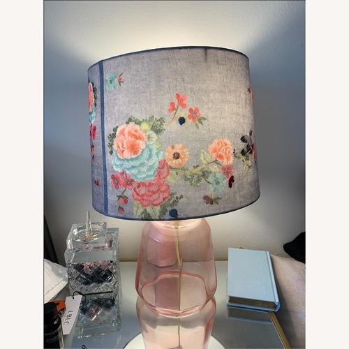 Used Gardenbird Lampshade and Salmar Lamp Base for sale on AptDeco