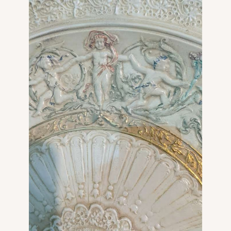 Vintage Ceramic Fan in frame - image-5