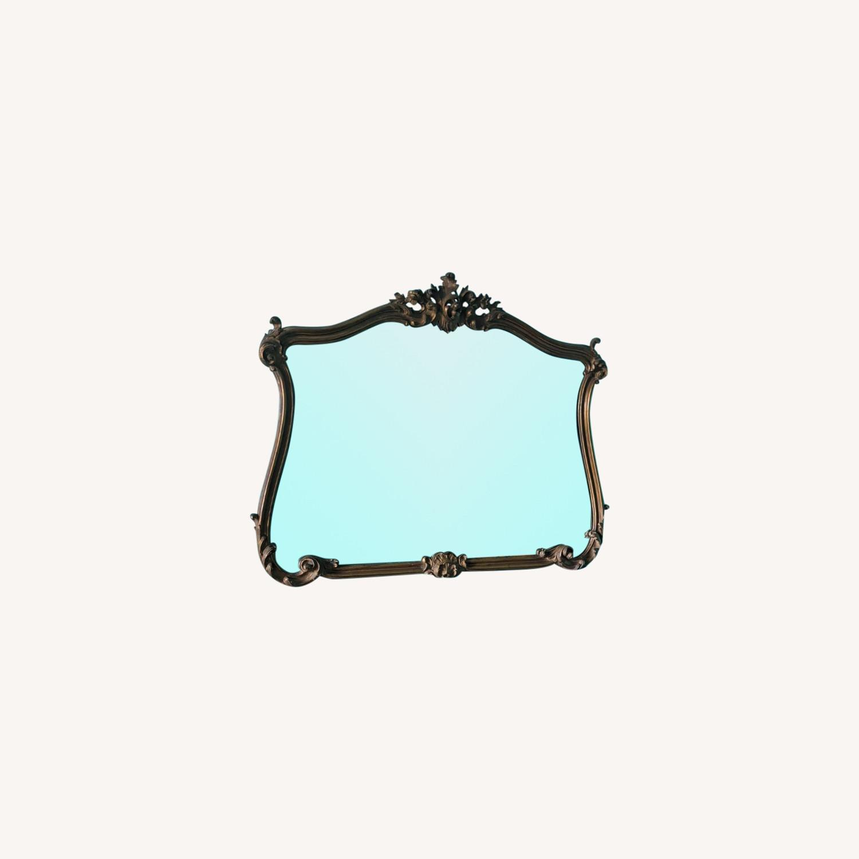 Elegant Large Vintage Mirror - image-0