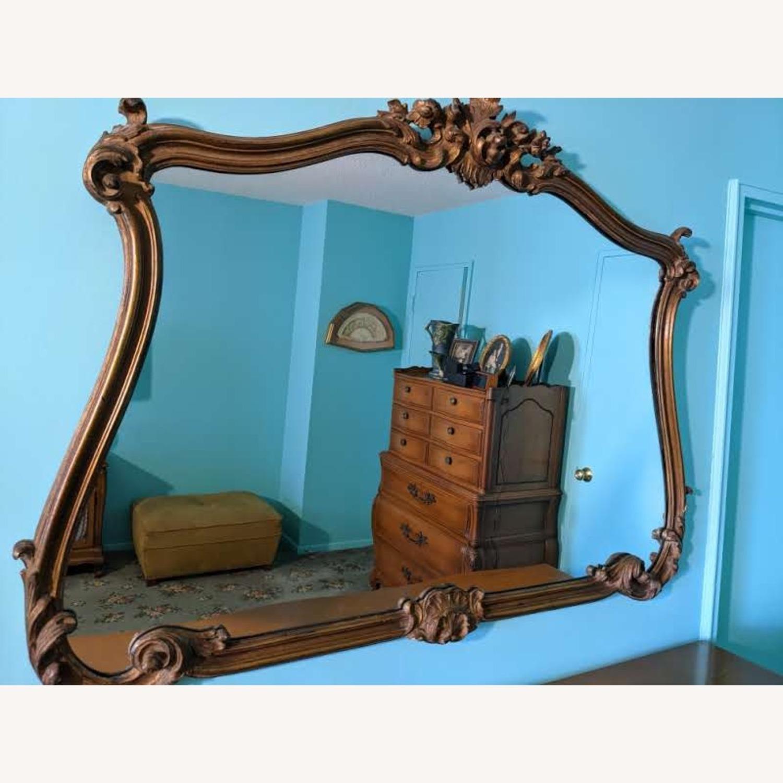 Elegant Large Vintage Mirror - image-1