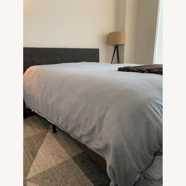 Wayfair Gray Queen Platform Bed Frame - image-2