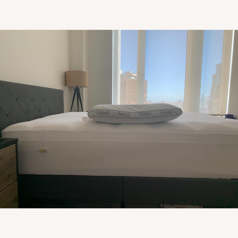 Wayfair Gray Queen Platform Bed Frame - image-1