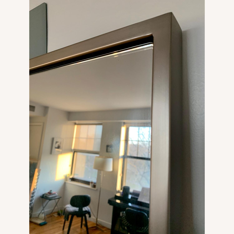 West Elm Metal Framed Floor Mirror - image-3